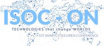 ISOC-ON : Open Conference de Ciudades Inteligentes e Internet de las Cosas