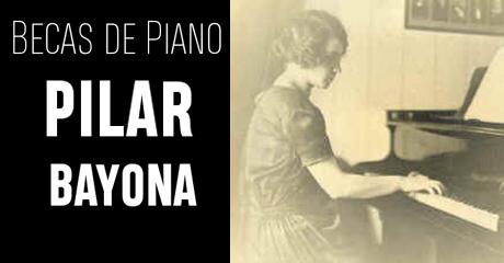 Becas de Piano Pilar Bayona