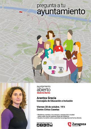 Desde los Barrios >> Arantza Gracia