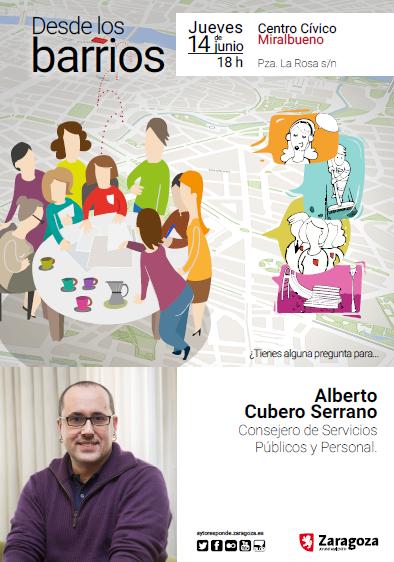 Alberto Cubero, Consejero de Servicios Públicos y Personal