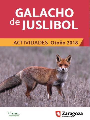 Actividades para grupos Otoño 2018 en El Galacho d...