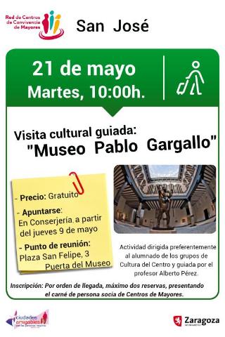 Visitas guiadas al Museo Pablo Gargallo