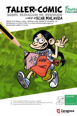 Taller de cómic: TVEO reduciendo residuos