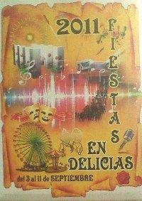 Cartel Anunciador Fiestas de las Delicias
