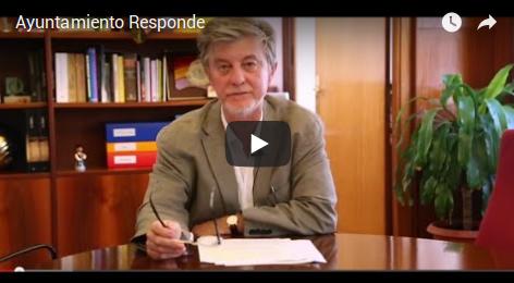 Video Explicativo del Excmo. Alcalde de Zaragoza Pedro Santisteve sobre Ayuntamiento Responde