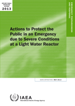 Actions to protect the public in an emergency due to severe conditions at a light water reactor