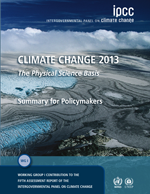 Climate Change 2013. The Physical Science Basis. Summary for policy makers