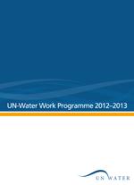 UN-Water Work Programme 2012-2013