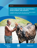 Catalyzing water for sustainable development and growth. Framing Water Within the Post-2015 Development agenda: options and considerations