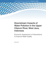 Downstream Impacts of Water Pollution in the Upper Citarum River, West Java, Indonesia Economic Assessment of Interventions to Improve Water Quality