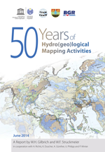 Fifty years of hydro(geo)logical mapping activities under the auspices of UNESCO, CGWM, IAH and BGR