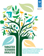 Targeted Scenario Analysis. A new approach to capturing and presenting ecosystem service values for decision making