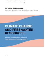 Climate Change and Freshwater Resources. A synthesis of adaptation actions undertaken by Nairobi work programme partner organizations