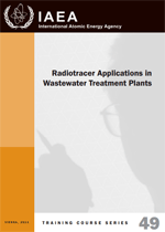 Radiotracer applications in wastewater treatment plants