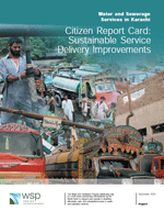 Water and Sewerage Services in Karachi Citizen Report Card: Sustainable Service Delivery Improvements
