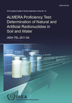 ALMERA Proficiency Test: Determination of Natural and Artificial Radionuclides in Soil and Water