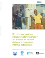 Do pro-poor policies increase water coverage? An analysis of service delivery in Kampala's informal settlements