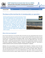 The future of the Aral Sea lies in transboundary co-operation