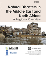 Natural disasters in the Middle East and North Africa : a regional overview