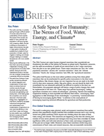 (A) Safe Space For Humanity: The Nexus of Food, Water, Energy and Climate