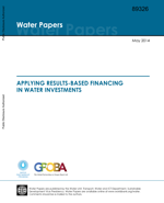 Applying results-based financing in water investments