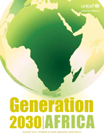Generation 2030 | Africa. Child demographics in Africa