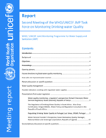 Report: Second Meeting of the WHO/UNICEF JMP Task Force on Monitoring Drinking-water Quality
