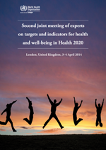 Second joint meeting of experts on targets and indicators for health and well-being in Health 2020