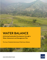 Water Balance. Achieving Sustainable Development through a Water Assessment and Management Plan. The Case of Federally Administered Tribal Areas, Pakistan