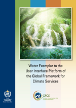Water Exemplar to the User Interface Platform of the Global Framework for Climate Services
