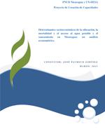 Determinantes socioeconómicos de la educación, la mortalidad y el acceso al agua potable y el saneamiento en Nicaragua: un análisis econométrico