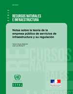 Notas sobre la teoría de la empresa pública de servicios de infraestructura y su regulación