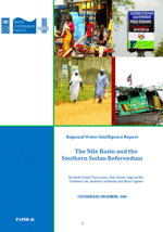 Regional Water Intelligence Report: The Nile Basin and the Southern Sudan Referendum
