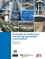 Economías de escala en los servicios de agua potable y alcantarillado
