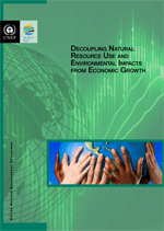 Decoupling natural resource use and environmental impacts from economic growth. A Report of the Working Group on Decoupling to the International Resource Panel