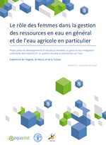 (The) role of women in agricultural water management - Results of a pilot project to develop gender-sensitive indicators