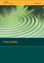 Policy brief on water quality