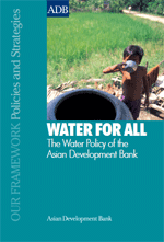 Water For All: The Water Policy of the Asian Development Bank