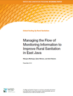 Managing the Flow of Monitoring Information to Improve Rural Sanitation in East Java