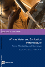 Africa's Water and Sanitation Infrastructure. Access, Affordability and Alternatives