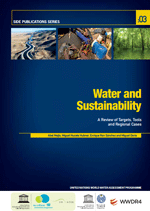Water and Sustainability. A Review of Targets, Tools and Regional Cases