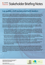 WWDR4 Stakeholder Briefing Notes: Lay public, civil society and faith leaders