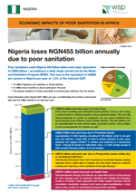 Economic Impacts of Poor Sanitation in Africa: Nigeria