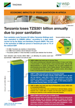 Economic Impacts of Poor Sanitation in Africa: Tanzania