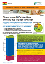 Economic Impacts of Poor Sanitation in Africa: Ghana