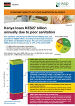 Economic Impacts of Poor Sanitation in Africa: Kenya