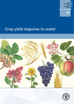 Crop yield response to water