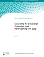 Measuring the Behavioral Determinants of Handwashing with Soap