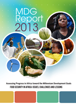 Assessing Progress in Africa toward the Millennium Development Goals. MDG Report 2013. Food security in Africa: Issues, challenges and lessons