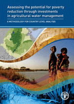 Assessing the potential for poverty reduction through investments in agricultural water management. A methodology for country level analysis